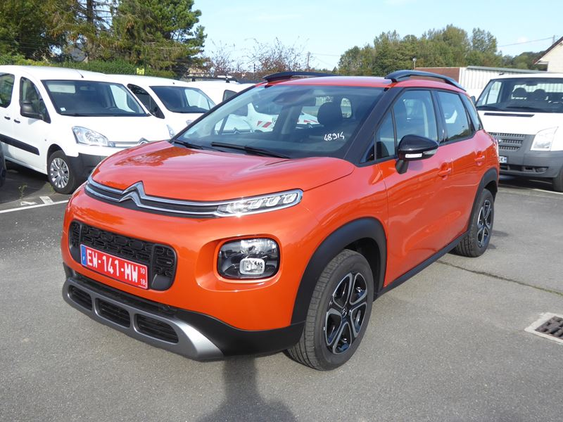citroen c3 aircross 04 18 spicy orange 3602km for sale to car dealers and professional 48914. Black Bedroom Furniture Sets. Home Design Ideas