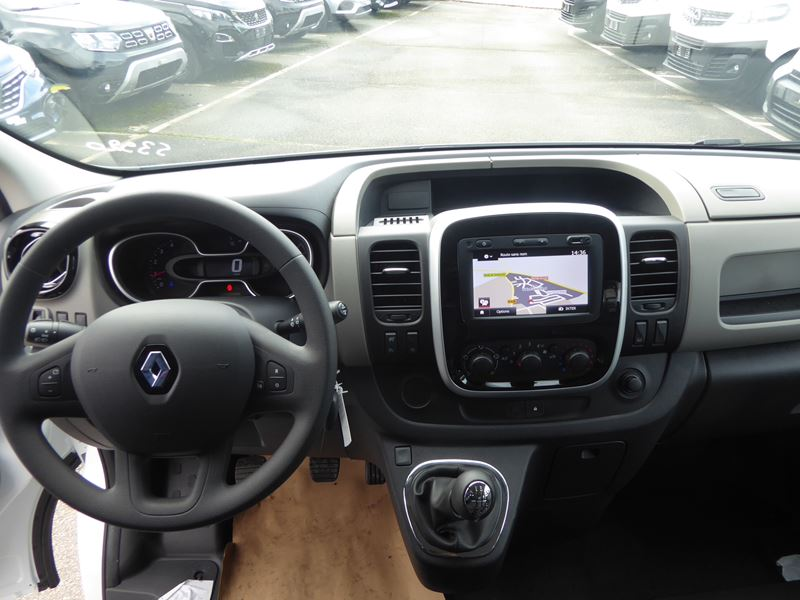 RENAULT TRAFIC III FG L2H1 1200 1.6 DCI 145CH ENERGY CABINE APPROFONDIE CONFORT EURO6